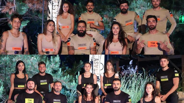 Operasyon 41 rakip yarışmacılar